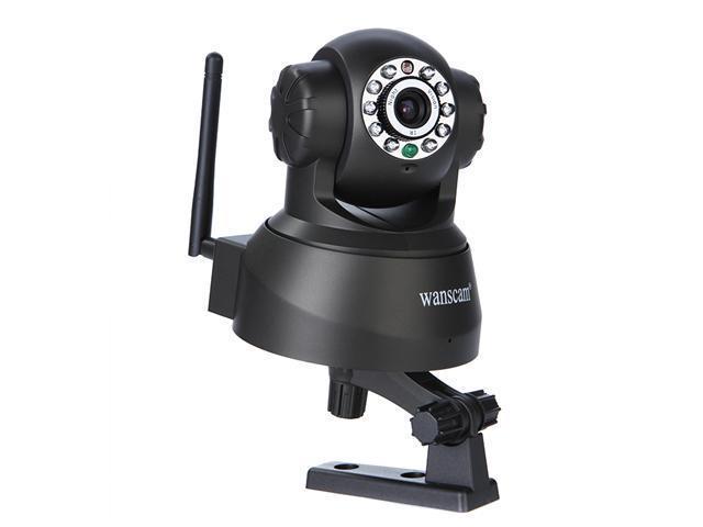 10 IR LED WPA Wireless Internet PT Dual Audio IP Camera