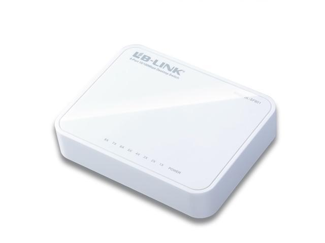 8 Port 10/100M Fast Ethernet Plastic Desktop Switch