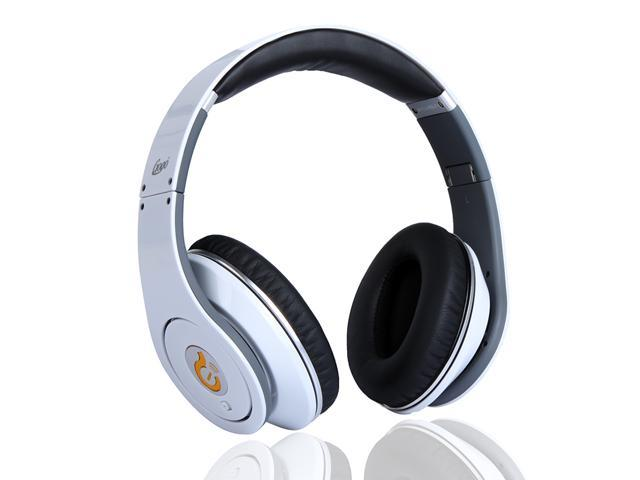 Syllable G04 Wired Stereo Headset Noise Reduction Cancellation Headphone Foldable for iPad iPod iPhone MP3 MP4 Mobile Phone White