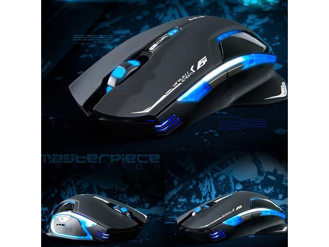 E-3lue 6D Mazer II 2.4GHz Wireless Game Gaming Mouse 2500DPI Blue LED