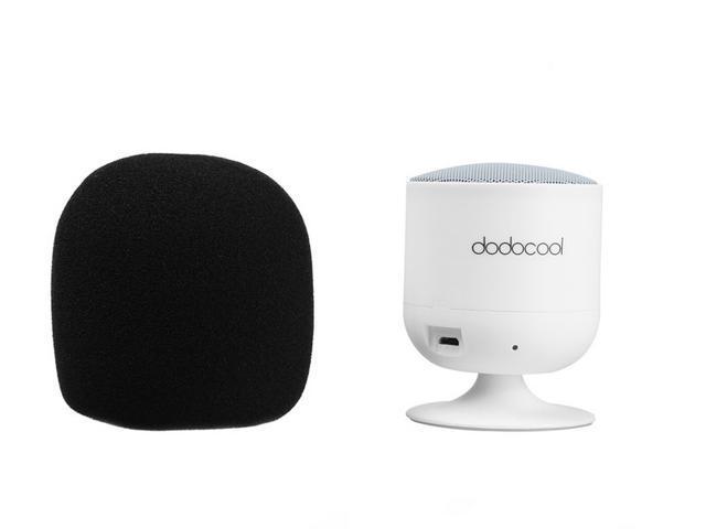 dodocool Portable Wireless Bluetooth Speaker Rotating Handsfree Mini Speakerphone Bass Subwoofer with Mic