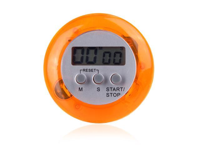 Digital LCD Timer Kitchen Clock Count Down/Up with Stand Alarm Magnetic 99min 59s