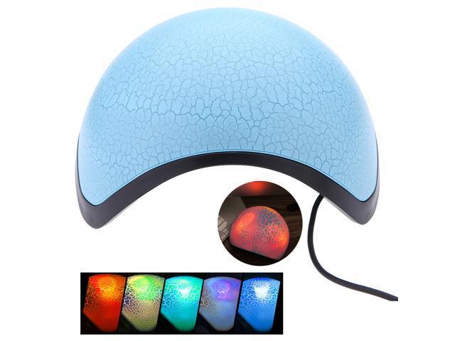 EZEEY ETR Seven Colors LED Cracks Gleamy Speaker Subwoofer USB 3.5mm With Hi-Fi Speaker