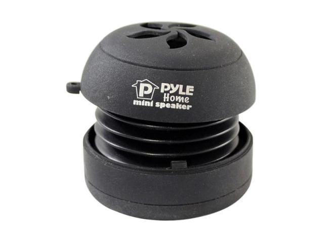 Pyle Pms2b Blac Rechargeable Bass Expanding Mini Speaker