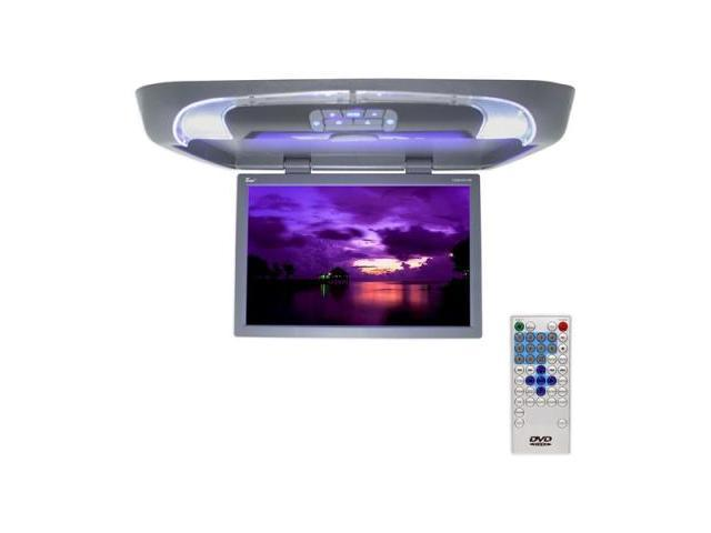 T-view T20dvfdgr Gray 20 Lcd Overhead Monitor With Dvd Player And Remote
