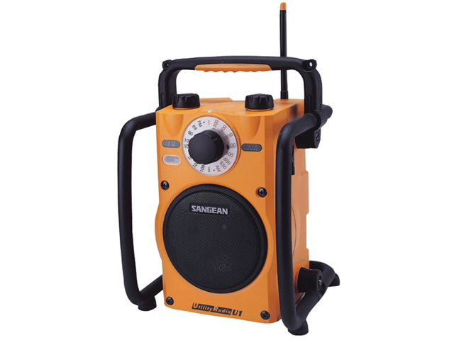 Sangean Rugged Weather-Resistant AM/FM Portable Radio U1