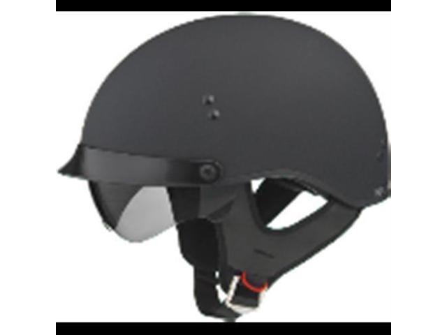 Gmax g9650074 gm65 full dress half helmet flat black s by GMAX