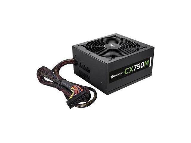 Corsair CP-9020061-NA CX750M 750W Modular Power Supply 80Plus Bronze
