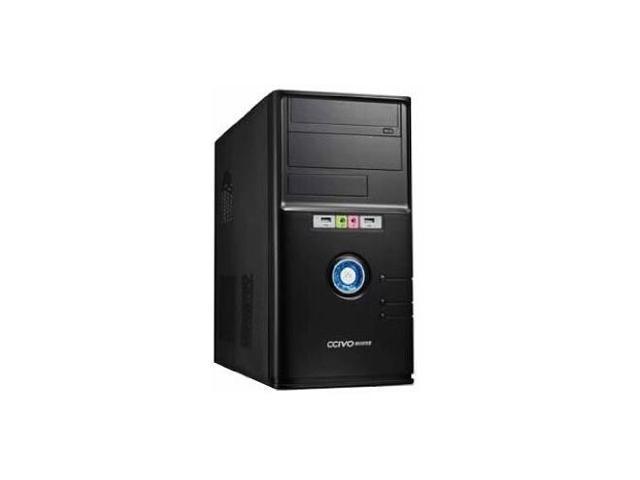 iMicro CA-IM1207P ATX Mini Tower Case w/ 400W Power Supply Black
