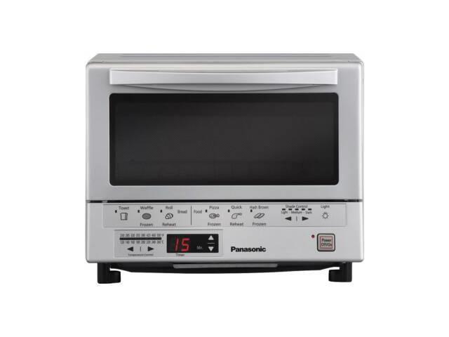 Panasonic NB-G110P Flash Xpress Toaster Oven Silver
