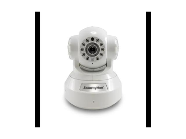 SecurityMan IPCAM-SD DIY wireless/wired IP camera with H.264