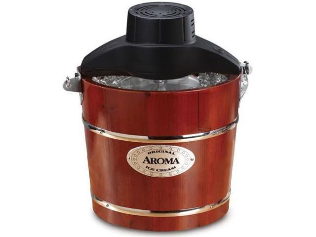 Aroma AIC-244 4-Qt. Traditional Ice Cream Maker