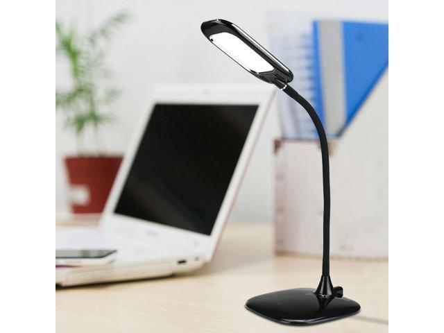 OxyLED Q3 Desk Lamp Desktop Reading Light Brightness Adjustable Rechargeable, Zero-radiation- Black