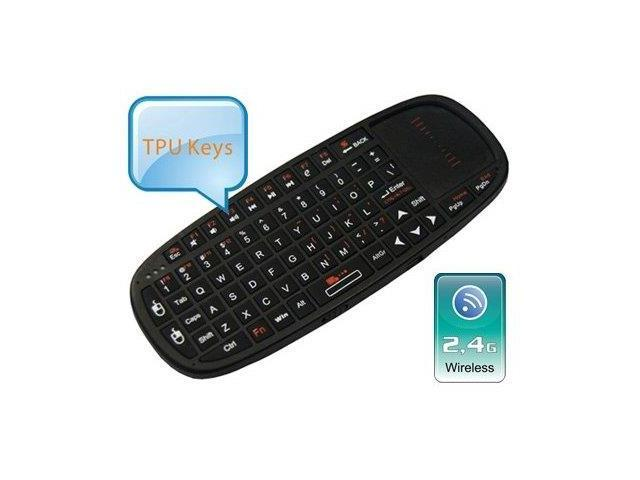 Esky® i10 2.4 GHz Mini Wireless Keyboard and Mouse with Laser Pointer
