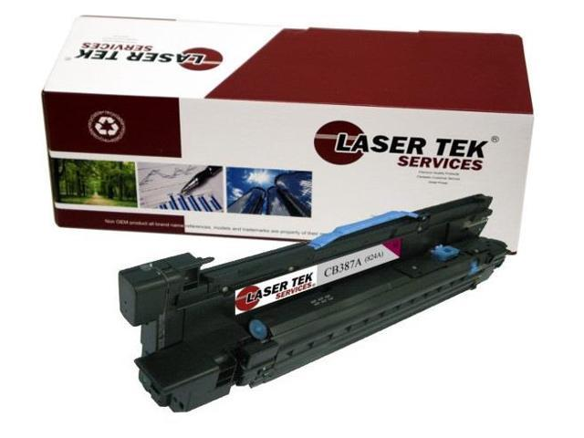 Laser Tek Services® HP CB387A 824A Magenta Replacement Drum Cartridge for the HP Color LaserJet CP6015 series