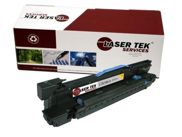 Laser Tek Services® HP CB386A 824A Yellow Replacement Drum Cartridge for the HP Color LaserJet CP6015 series