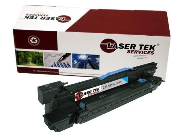 Laser Tek Services® HP CB385A 824A Cyan Replacement Drum Cartridge for the HP Color LaserJet CP6015 series