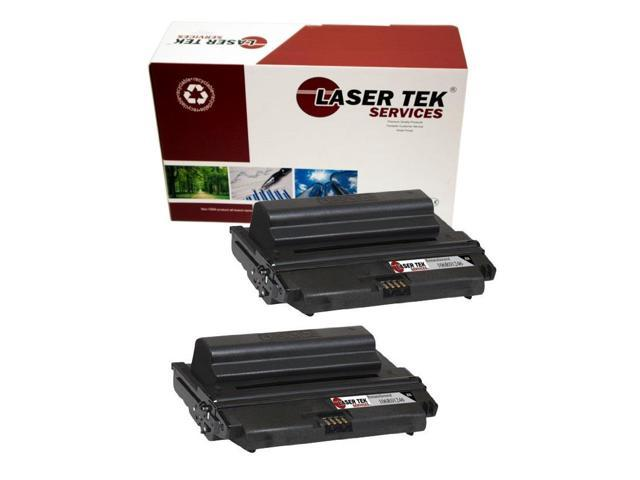 Laser Tek Services® 2 pack Xerox 106R01246 Black High Yield Remanufactured Replacement Toner Cartridges for the 3428