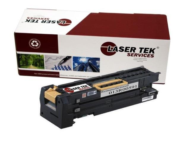 Laser Tek Services® Xerox 013R00591 Black High Yield Remanufactured Replacement Drum Cartridge for the 5325