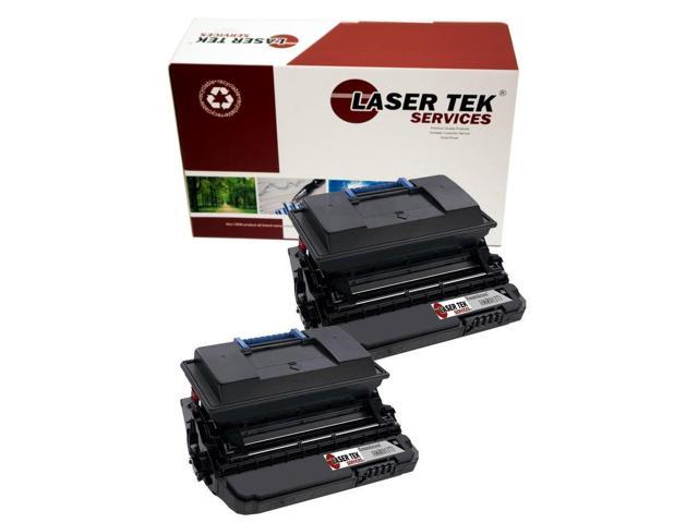 Laser Tek Services® 2 pack Xerox 106R10371 Black High Yield Remanufactured Replacement Toner Cartridges for the 3600