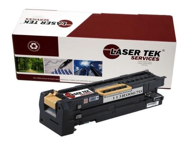 Laser Tek Services® Xerox 113R00670 Black High Yield Remanufactured Replacement Drum Cartridge for the 5500