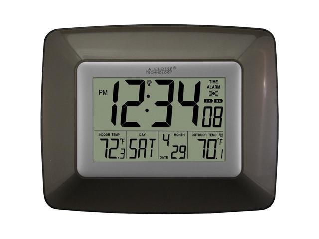 La Crosse Technology Ws-8119U-It-Cho Atomic Digital Clock With Wireless Out Temp