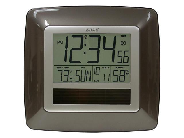 La Crosse Technology Wt-8112-U Atomic Digital Clock With Temperature & Humidity