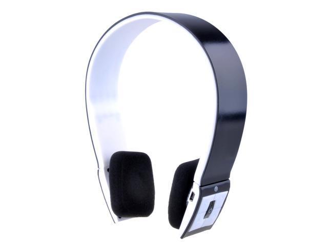 Patazon Built-in Microphone Bluetooth 3.0 Music Stereo Earphone Headset Headphone Handsfree for Smartphones, Tablets, Laptops, & Desktops (Black)
