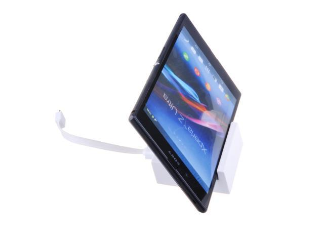 Magnetic Charger Dock Cradle Stand Docking Station For Sony Xperia Z Ultra XL39h/ Sony Xperia Z1 L39h (White)