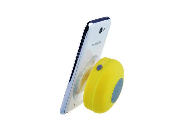 Yellow Bluetooth Waterproof Wireless A2DP Mini Speaker with Suction Cup for Car Bathroom Pool Boat Beach Outdoor for iPhone 4S/5/5S/5C/6/6 plus ...