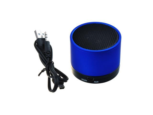 Mini Portable Bluetooth Speaker with Micro SD Card Slot & Audio Input Ports for PC / Phone / Tablet / Apple iPod Touch / iPad ...