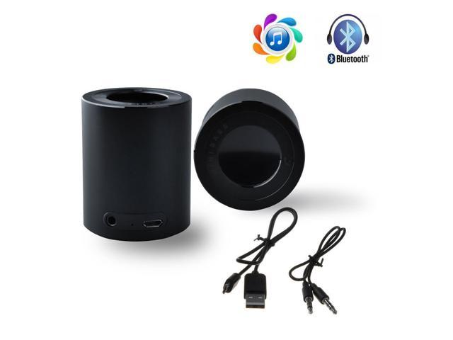 Black Wireless Bluetooth Mini Bass Bluetooth Speaker For iPhone 4S/ 5/ 5S/ 5C, Samsung i9300/i9500/N7100/N7200 Galaxy S3/ S4/ Note 2/ Note 3, HTC ...