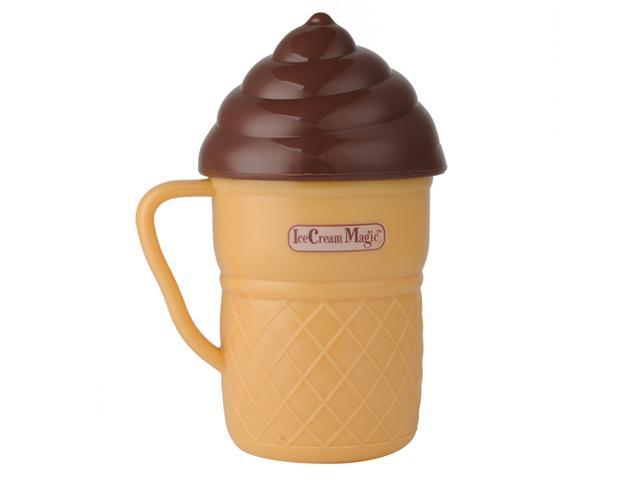 New Ice Cream Magic Portable Ice Cream Maker - As Seen On TV Makes in 3 Minutes
