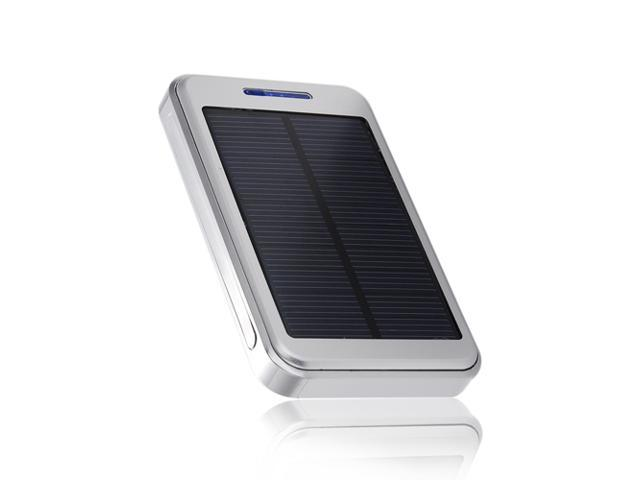 Portable 16000mAh Solar Power Panel Power Bank Dual USB Ports External Battery Charger Backup for iPhone 6 5S 5C 5 4S 4 iPad 4 3 ...