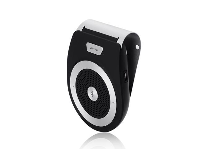 Wireless Bluetooth 3.0 Car Kit Handsfree In-car Speakerphone Speaker with Visor Clip for Samsung Galaxy S5 S4 S3 Note 3 4 HTC One M8 LG ...