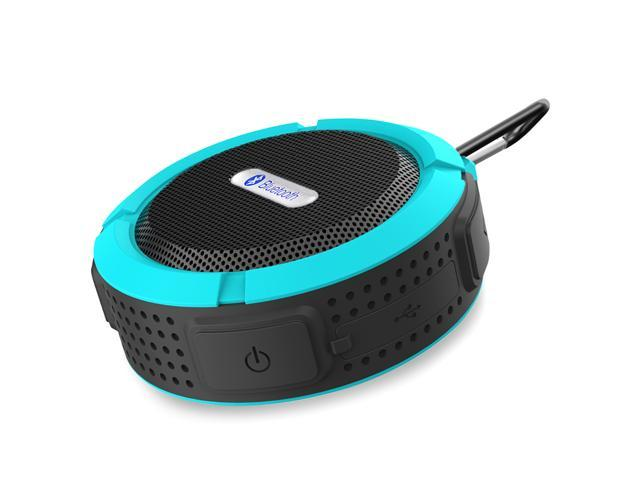 Blue Mini Waterproof Handsfree Bluetooth 3.0 A2DP Stereo Sport Speaker with Suction Cup for iPhone 6 Plus 5S 5C 5 Samsung Galaxy S5 S4 Note ...