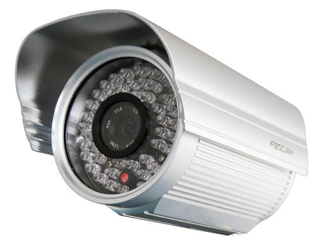 New Foscam FI8905E Outdoor POE IP Camera with Wide Angle 4mm lens