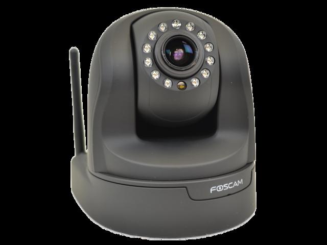 Foscam FI9826WB 1.3MP Wireless/Wired Indoor PTZ IP Camera (Black)
