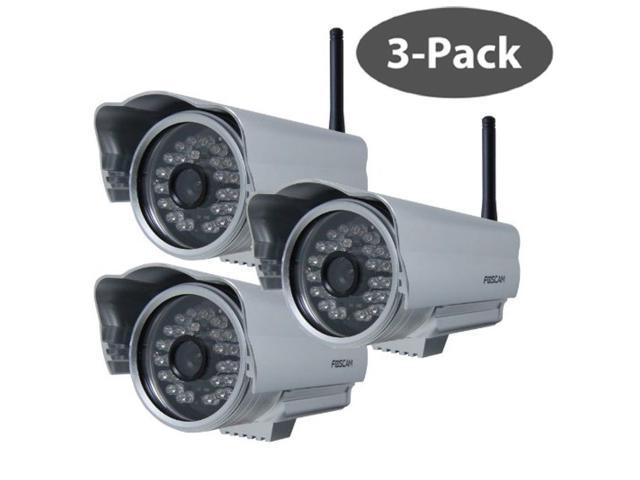 Foscam FI8904W 3 PACK Wireless/Outdoor IP Camera FREE SUPPORT & 1 YEAR WARRANTY