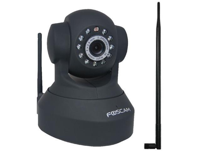 Foscam WiFi Wireless Pan/Tilt IP Camera Two Way Audio FI8918W Security Camera