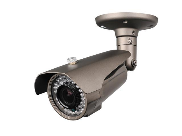 HQ-Cam® CCTV Security Surveillance Infrared Outdoor Sony CCD Bullet Camera, 700TVL, 42IR, 2.8-12mm Vari-Focal Lens