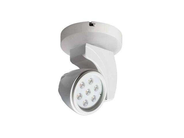 WAC Lighting 17W LEDme Reflex Monopoint - Flood 2700K, White - MO-LED17F-27-WT