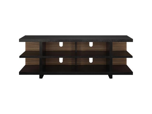 South Shore Jambory 48-inch TV Stand with Storage Bins on Casters, Chocolate - 4919605