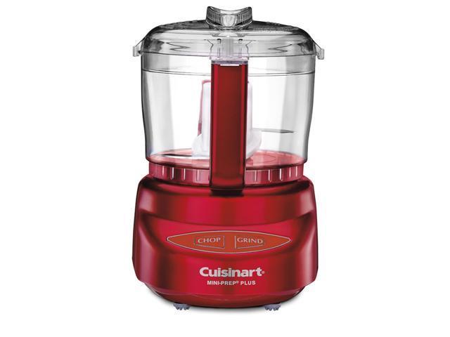 Cuisinart 3 Cup Mini Food Processor Metallic Red