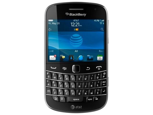 BlackBerry 9900 Bold NFC 4G GSM Global QWERTY Smartphone Unlocked AT&T