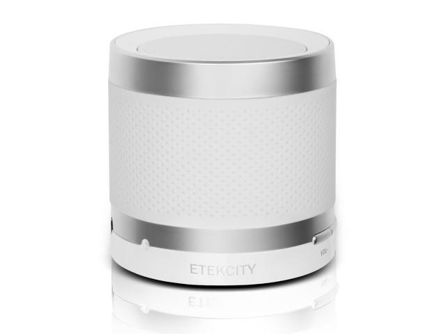 Etekcity RoverBeats T3 Ultra Portable Wireless Bluetooth Speaker with 1 Year Warranty,Built-in Mic, Powerful Sound, High-Def Sound (White)