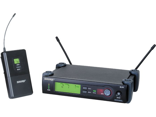 Shure SLX14/85 Wireless Microphone System (J3 Band, 572 - 596 MHz)