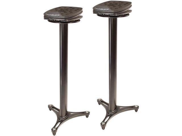 Ultimate Support MS-100 Studio Monitor Stand Black (Pair)