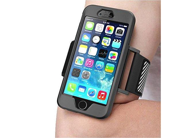 iPhone 6 Armband, SUPCASE Apple iPhone 6 Armband 4.7 inch Easy Fitting Sport Running Armband with Premium Flexible Case Combo for iPhone 6 Case ...
