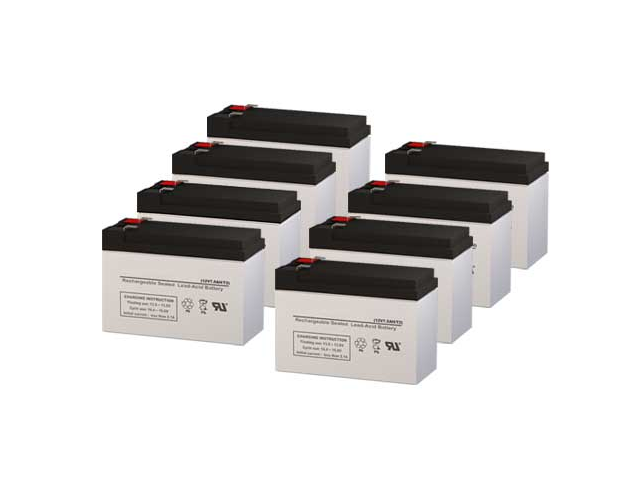Alpha Technologies 3000T UPS Replacement Batteries - Pack of 8